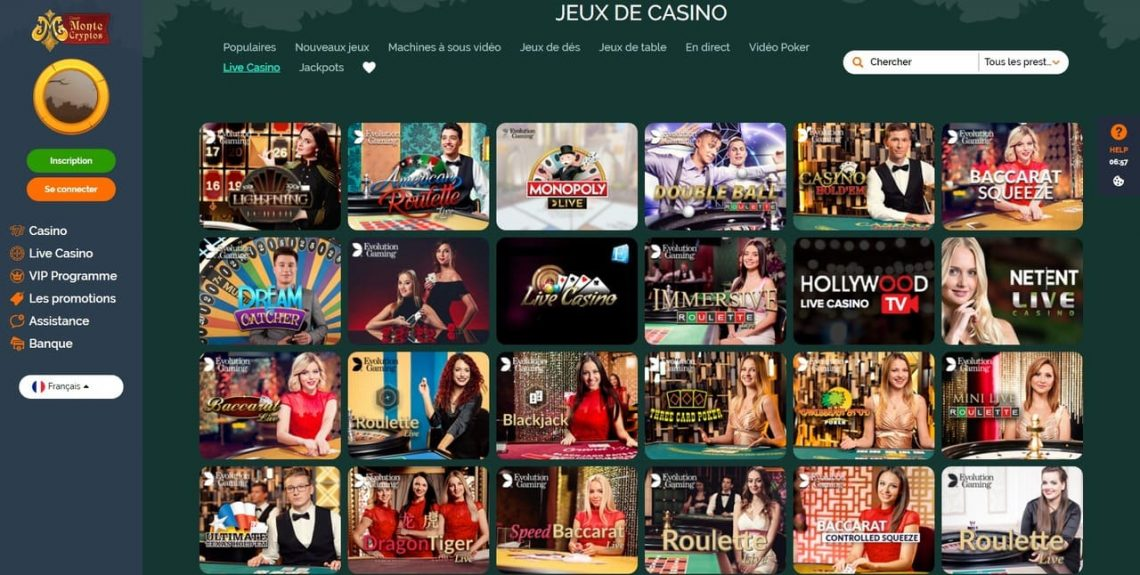 avis casino monte cryptos